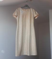 Svečana zlatna haljina