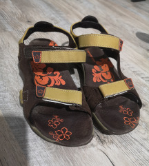 Sandale za trekking, hodanje, brušena koža, br. 39