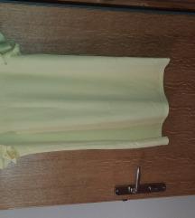 Mohito pastelno žuta haljina