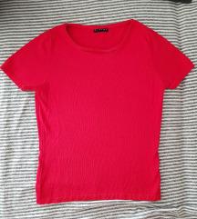 Sisley ženska crvena majica, deblja, kvalitetna