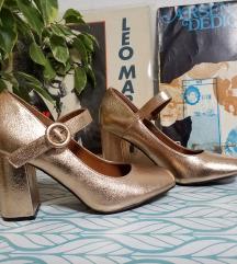 Rose gold cipele