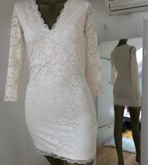 H&M čipkana haljina