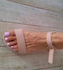 Sandale puder roza