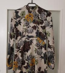 Zara cvjetna midi haljina NOVA