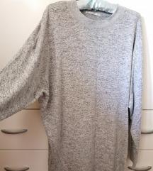 Pletena haljina/tunika Pull&Bear