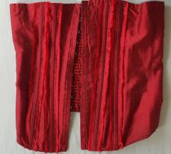 Crveni korzet (top) 100%svila