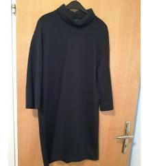 Zara crna haljina s visokim vratom