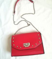 BATA- crvena torbica