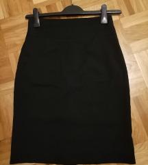H&M suknja visoki struk