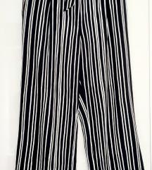 H&M palazzo široke hlače