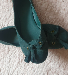 Zelene balerinke