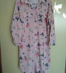 cvjetna košulja haljina