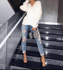 Zara ripped jeans (sniženo!)
