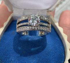 Vintage Ruski srebrni prsten