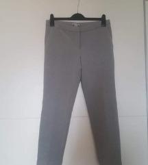 Sive H&M deblje kvalitetne poslovne hlače XL, XXL