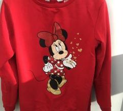 Minnie Mouse topla majica 134/140