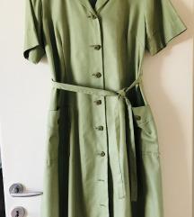 Vintage šivana haljina na kopčanje