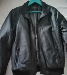 Kozna jakna topla i podstavljena za decke 134/140