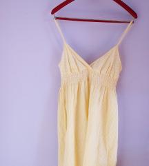 HM žuta haljina (novo, nenošeno)