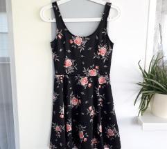 NOVO H&M šarena cvjetna haljina