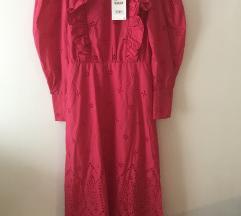 Zara izvezena maxi haljina