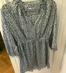 MANGO suit predivna svilena haljina SMALL