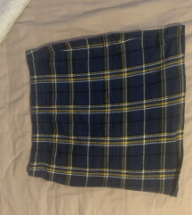 Tamnoplava mini suknja