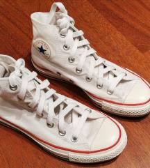 Bijele visoke starke Converse