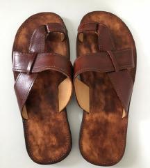 Ženske cipele natikače kožne NOVO