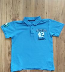 Polo majica plava - vel. 122 - 10kn ili zamjena