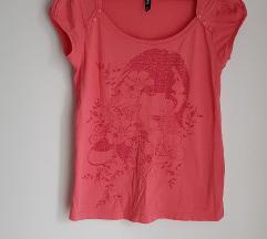 Nova C&A koraljna majica