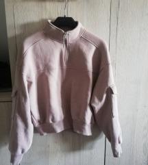 H&M nude pink topla duksa S