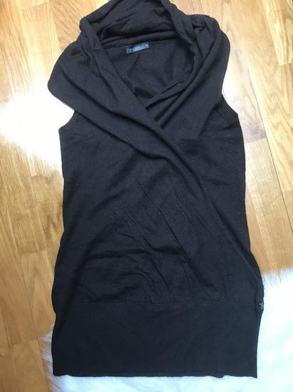 XNATION smedji prsluk od alpaki/ljama vune