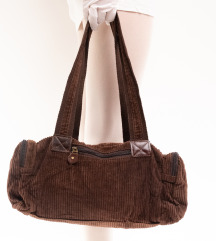 Smeđa samt torbica