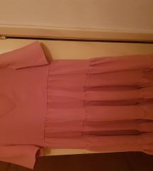 Lepršava haljina, roza