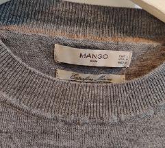 Muški Mango tanji pulover s vunom L
