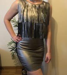 Metalic haljina