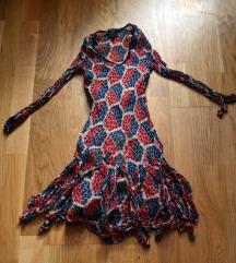 lepršava ljetna haljina - Kate Moss/Top Shop