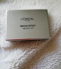 Loreal brow artist genius kit novo
