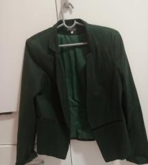 Zeleni elegantni sako S velicina
