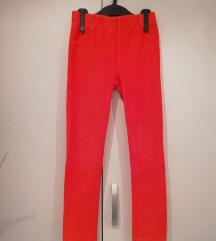 Lupilu crvene samtane tajice/hlače