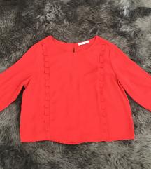 Lepršava Mango Bluza crvena