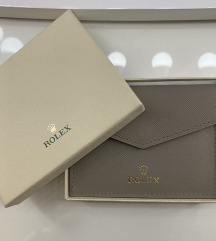 Original Rolex Flap Card Holder