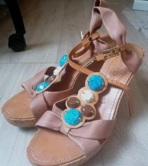 Talijanske sandale od prave kože
