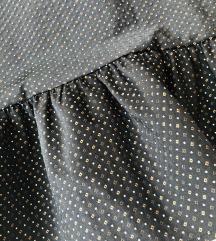 💃LoKa designe custom haljina od svile s volanom S