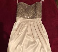 Zlatna svečana haljinica