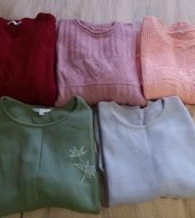 Lot ženskih majica/pulovera L/XL - Tisak uklj