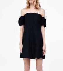 Zara premium lanena haljina, pt uklj