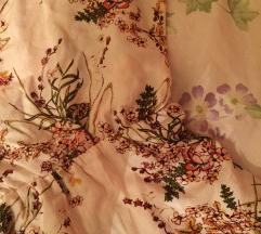 Nude floral kombinezon M/L