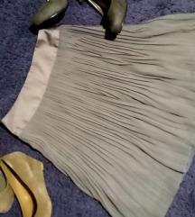 Suknja H&M pilsirana